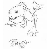 Piranha Frog