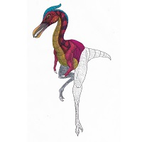 Flightless Pterosaur